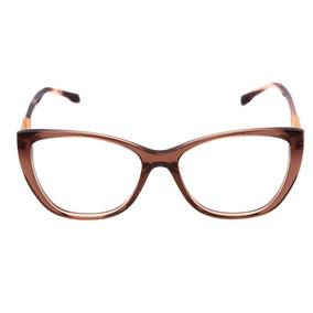 8a7935a9914b7 Bulget Bg 6196 - Óculos De Grau T04 Marrom Translúcido E Bra
