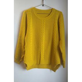 Sweaters Color Mostaza Para Mujer - Ropa y Accesorios en Mercado ... df860333d3a5