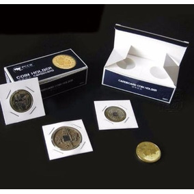 2 Caixas Coin Holder Pccb 27,5mm Com 50 Und. Cada Caixa
