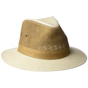Tommy Bahama - Sombrero De Safari De Cuero Perforado Para 7dd83d73ebf