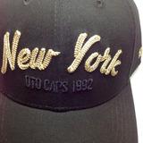 Gorra New York Bordado De Lujo 100 % Algodon Color Negro 45e34110ac9