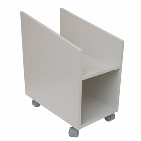 Porta Cpu/estabilizador Volante, Rodízios Mdp 15mm, Cristal