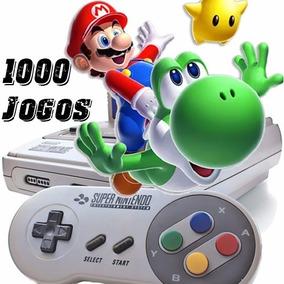 Emulador Super Nintendo + 1000 Jogos Pc Super Mario Zelda