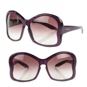 899157191fdd3 Óculos Prada! De Sol Butterfly! Acompanha Case! Frete Grátis