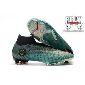 Chuteira Nike Mercurial Superfly Fg Verde - Chuteiras Nike de Campo ... d3b274e2fdcac