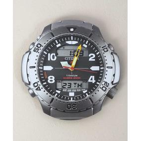 4546bb7f06d Relógio De Parede Citizen Aquamount Titanium Aqualand Diver