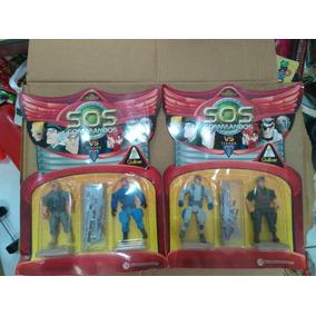 Brinquedo Antigo Boneco Ação Sos Comandos Gi Joe Soldado