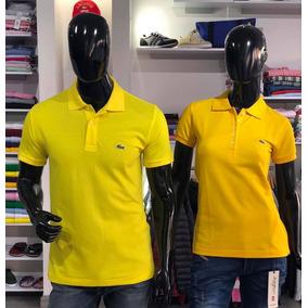 Camiseta Lacoste Amarilla Tipo Polo - Ropa y Accesorios en Mercado ... 2c4ef0c3b3