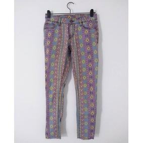 Jeans Forever 21 de Mujer Amarillo en Mercado Libre Argentina 24f17b9792b4