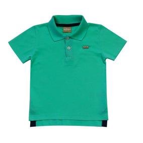 Camisa Infantil Menino Gola Polo Turmalina Milon d0a0439b40eaa