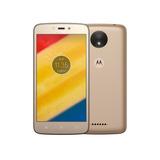 Celular Moto C Plus 16gb Dual 4g Gold