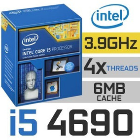 Procesador Intel Core I5-4690 / 3,5ghz-3,9ghz / Socket 1150