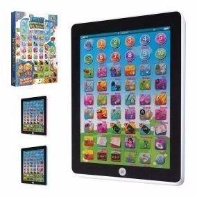 Tablet Interativo Bilingue Pilhas Infantil Art Brink Present