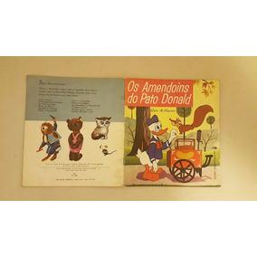 Livro Infantil Os Amendoins Do Pato Donald - Raridade Déc.60