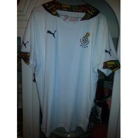 Jersey Playera Seleccion Ghana Africa Mundial Brasil 2014 1f3b1d3ddd883