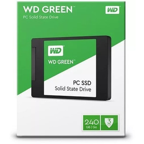 Hd Ssd 240gb Western Green Sata3 2.5 - Envio Imediato