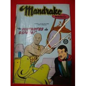Mandrake -magazine - Nº 08 - 1954 - Ótimo -( Frete: Grátis )