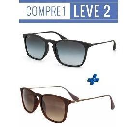 ef0131ae44ddb Pague 1 Leve 3 De Sol - Óculos De Sol Ray-Ban no Mercado Livre Brasil