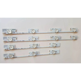 Kit Barra De Led Tv Semp 32l2400/ Dl3244 / Dl3253/ Dl3245i