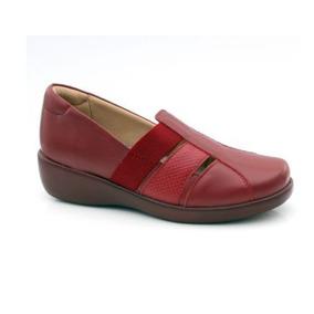 d26a5d0587 Sapato Feminino Doctor Pé - Sapatos Vermelho no Mercado Livre Brasil