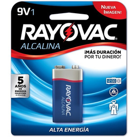 Bateria Rayovac 9v