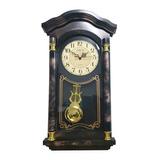 Relógio Com Pêndulo Ativo 50x23 Cm Retrô Modelo Antigo Lindo