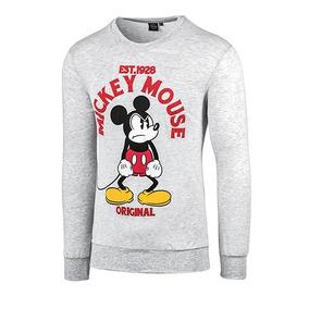 Sudadera Lic Punto Z Mickey Mouse Dcach0016 Caballero Oi