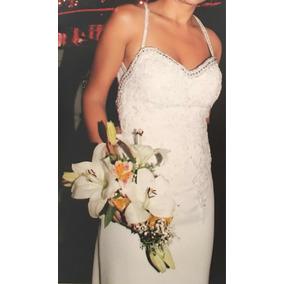207cd53085 Vestidos Largos Brillantes - Vestidos de Novia en Mercado Libre ...