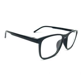 a0381eee60cab Armação Óculos Grau Feminino Masculino Quadrado Acetato 8582