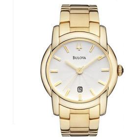 d82113e4707 Relógio Bulova Classic Analógico Dourado Wb21481h - 97b107
