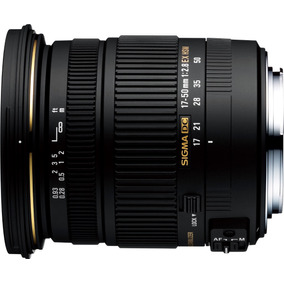 Lente Sigma 17-50mm F2.8 Ex Dc Os Hsm Para Nikon Japones