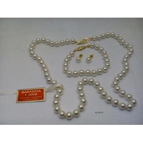 094d0b25d903 Collar De Perlas De Mallorca - Collares y Cadenas en Mercado Libre ...