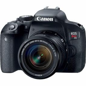 Camera,maquina P/youtube Canon T7i Eos Rebel Kit 18-135