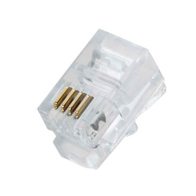 Conector Rj11 Paquete De 100 Unidades Generico