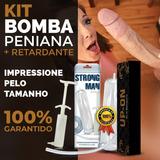 Bomba Peniana Cresce Cassete E Engrossa + Gel Retardante B1a