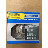 Cassete Shimano Ultegra Cs6700 10v 11x25