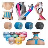 Fita Kit 20 Cinesiologia Muscular Fisioterapia Kinesio Tape