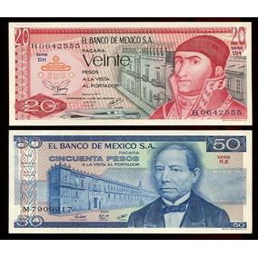 Cédulas Do México, 4 Diferentes, Todas Fe - Lote 275