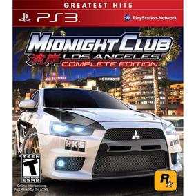 Midnight Club Los Angeles Complete Ed. Ps3 Psn Midia Digital