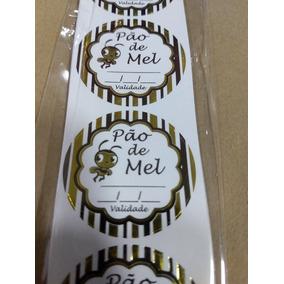 Etiquetas Adesivas Pão De Me Tamanho 4cm