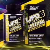 Lipo 6 Black Intense Nutrex De 60 Cáps. (americano)
