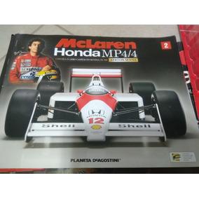 Exemplares N° 1 E 2 Mclaren Mp4/4 De 88 De Senna