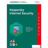 Antivirus Kaspersky Internet Security Licencia Para 5 Pc´s