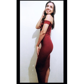 Vestido Casual, Elegante. Corte Bardot O Campesina