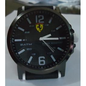 591f6e625cf Relogio Ferrari Pulseira Borracha Masculino - Relógios De Pulso no ...