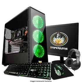 Pc Gamer Completo / Teclado , Mouse E Headset Gamer Gt420