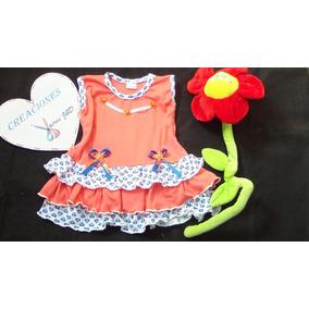 Vestidos Para Niñas Bebes En Algodon ( Nuevo)