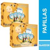 2 Pack 4 Papillas C/u Bebe 6 Meses Sabores Varios Heinz
