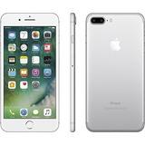 iPhone 7 Plus 128 Gb Original 5.5 Lacrado +nf Prata Anatel