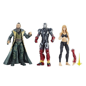 Marvel Legends 10 Anos Pepper Potts, Iron Man E The Mandarin
